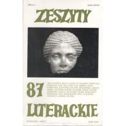 Zeszyty Literackie nr 87