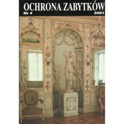 Ochrona Zabytków nr 4/2001...
