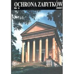 Ochrona Zabytków nr 3/2001...