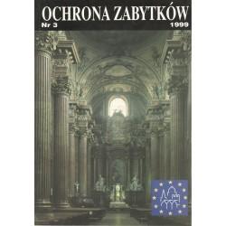 Ochrona Zabytków nr 3/1999...