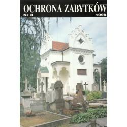 Ochrona Zabytków nr 3/1998...