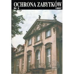 Ochrona Zabytków nr 3/1997...