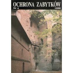 Ochrona Zabytków nr 4/1996...