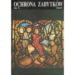 Ochrona Zabytków nr 4/1993...