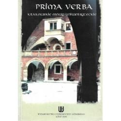 Prima Verba. Krakowskie...