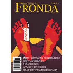 Pismo Poświęcone FRONDA Nr...