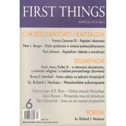 First Things. Edycja polska...