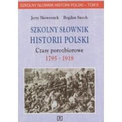 Szkolny słownik historii...