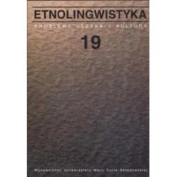 Etnolingwistyka. Problemy...
