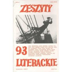 Zeszyty Literackie nr 93