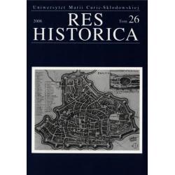 Res Historica T. 26 (2008)...