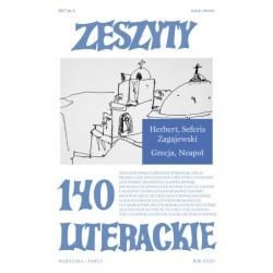 Zeszyty Literackie nr 140